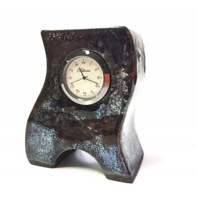 Horloge en céramique 4 pouces irridescent
