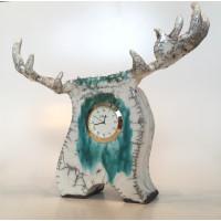 Horloge en céramique
