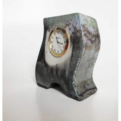 Horloge en céramique grise 17002